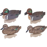 Flambeau Storm Front Classic Green Winged Teal Duck Decoys -6 Pack