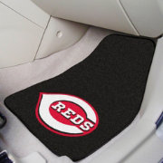 Cincinnati Reds Printed Car Mats 2-Pack