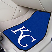 FANMATS Kansas City Royals Printed Car Mats 2-Pack