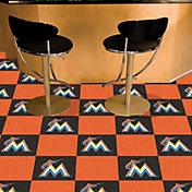 FANMATS Miami Marlins Team Carpet Tiles