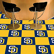 San Diego Padres Team Carpet Tiles