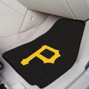 FANMATS Pittsburgh Pirates Printed Car Mats 2-Pack