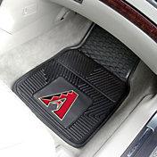 Arizona Diamondbacks Heavy Duty Vinyl Car Mats 2-Pack