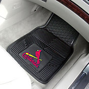 St. Louis Cardinals Heavy Duty Vinyl Car Mats 2-Pack