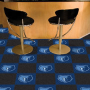 FANMATS Memphis Grizzlies Carpet Tiles