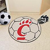 FANMATS Cincinnati Bearcats Soccer Ball Mat