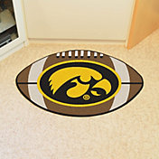 FANMATS Iowa Hawkeyes Football Mat