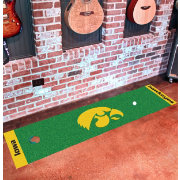 FANMATS Iowa Hawkeyes Putting Mat