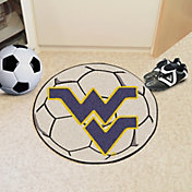 FANMATS West Virginia Mountaineers Soccer Ball Mat