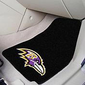Baltimore Ravens 2-Piece Printed Carpet Car Mat Set