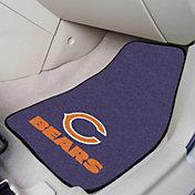 Chicago Bears 2-Piece Printed Carpet Car Mat Set