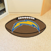 FANMATS Los Angeles Chargers Football Mat