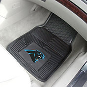 Carolina Panthers 2-Piece Heavy Duty Vinyl Car Mat Set