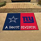 FANMATS Dallas Cowboys-New York Giants House Divided Mat
