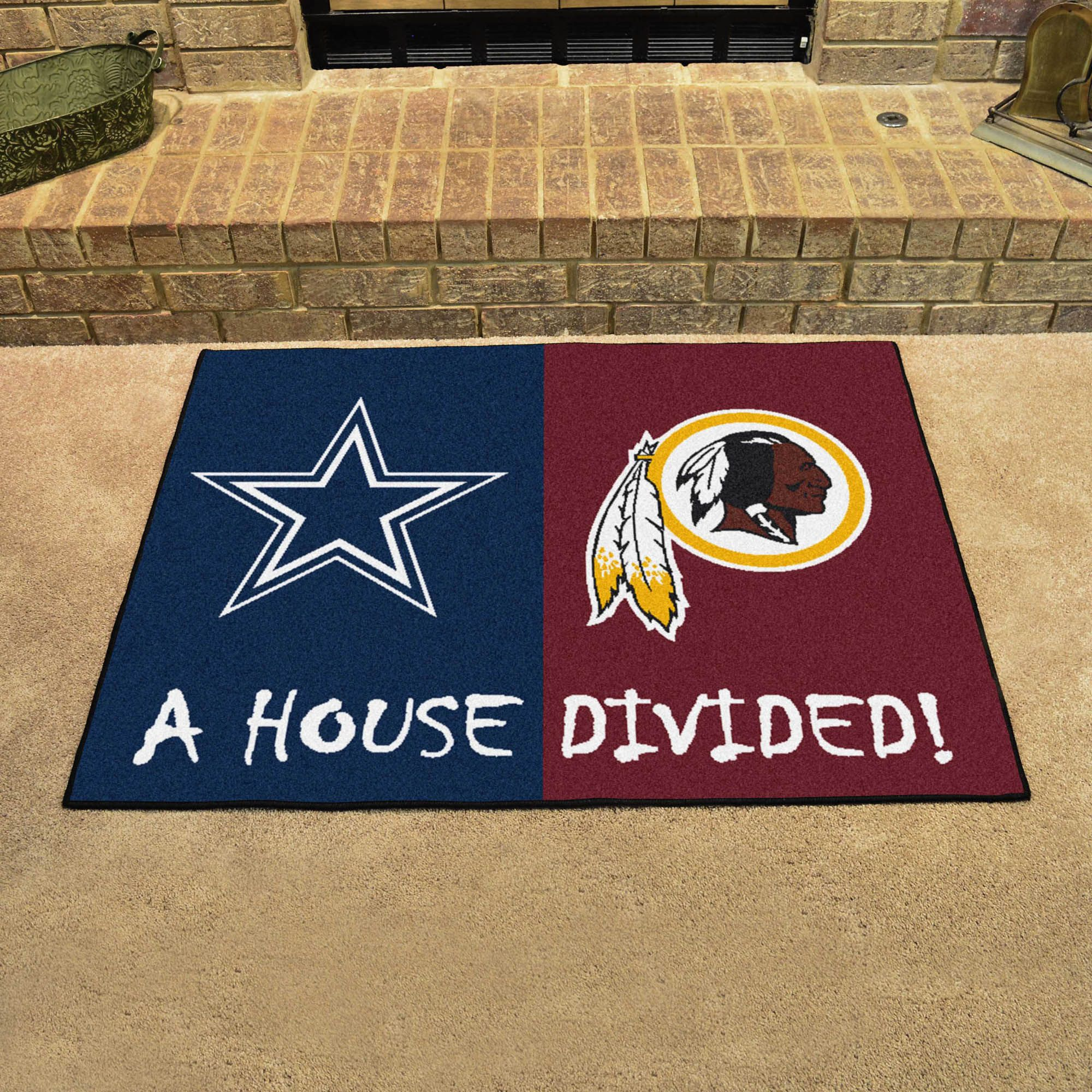 dallas cowboys washington redskins house divided mat u0027s