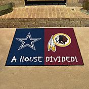 Dallas Cowboys-Washington Redskins House Divided Mat