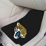 FANMATS Jacksonville Jaguars 2-Piece Printed Carpet Car Mat Set