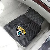 FANMATS Jacksonville Jaguars 2-Piece Heavy Duty Vinyl Car Mat Set
