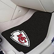 FANMATS Kansas City Chiefs 2-Piece Printed Carpet Car Mat Set