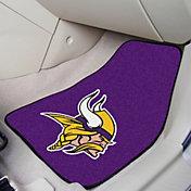Minnesota Vikings 2-Piece Printed Carpet Car Mat Set