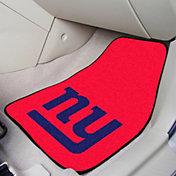FANMATS New York Giants 2-Piece Printed Carpet Car Mat Set