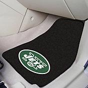 FANMATS New York Jets 2-Piece Printed Carpet Car Mat Set