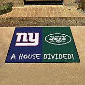 FANMATS New York Giants-New York Jets House Divided Mat