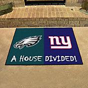 FANMATS Philadelphia Eagles-New York Giants House Divided Mat