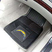 FANMATS San Diego Chargers 2-Piece Heavy Duty Vinyl Car Mat Set