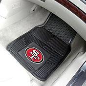 San Francisco 49ers 2-Piece Heavy Duty Vinyl Car Mat Set