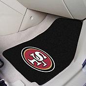 FANMATS San Francisco 49ers 2-Piece Printed Carpet Car Mat Set