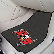 FANMATS Tampa Bay Buccaneers 2-Piece Printed Carpet Car Mat Set
