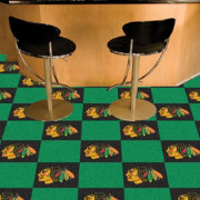 FANMATS Chicago Blackhawks Carpet Tiles