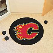 Calgary Flames Puck Mat
