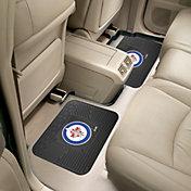 FANMATS Winnipeg Jets Two Pack Backseat Utility Mats