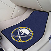 FANMATS Buffalo Sabres Two Piece Printed Carpet Car Mat Set