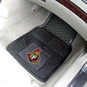 FANMATS Ottawa Senators Two Piece Heavy Duty Vinyl Car Mat Set