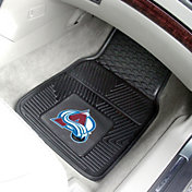 FANMATS Colorado Avalanche Two Piece Heavy Duty Vinyl Car Mat Set