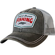 Field & Stream Waxed Fishing Patch Mesh Cap