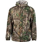Field & Stream Men's Lightweight Packable Camo Rain Jacket