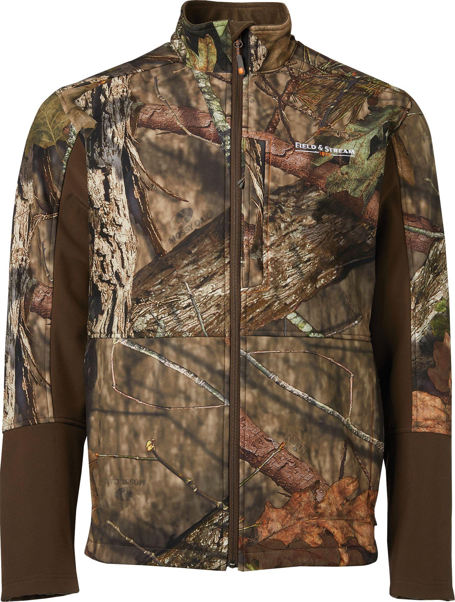 Field & Stream Men's Softshell Hunting Jacket, Size: Medium, Mossy Oak Brk Up Country thumbnail