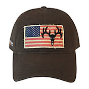 Field & Stream Men's Deer Skull Flag Patch Hat