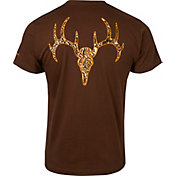 Field & Stream Men's Bullet Deer Skull T-Shirt