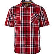 Field & Stream Men's Plaid Woven Short Sleeve Shirt