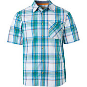 Field & Stream Men's Plaid Woven Short Sleeve Shirt