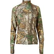 Field & Stream Women's Base Defense Midweight Mock Neck Base Layer Shirt