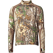 Field & Stream Youth Base Defense Midweight Mock Base Layer Shirt