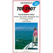 Top Spot Florida Palm Beach Area Fishing Map
