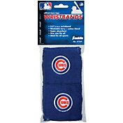 """Franklin Chicago Cubs Royal 2.5"""" Wristbands"""