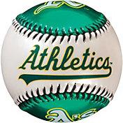 Franklin Oakland Athletics Metallic and Pearl Soft Strike Baseball